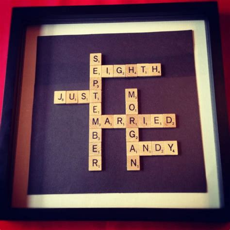 scrabble gift 17 best images about scrabble letter crafts on