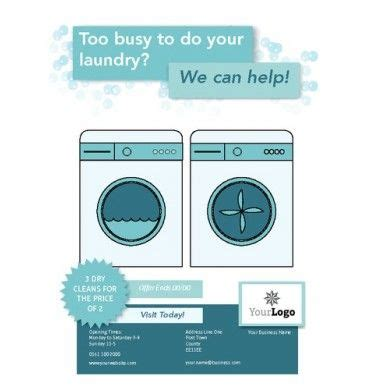 laundry flyers templates a6 laundry leaflets printing flyers designs washing