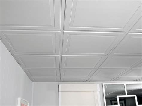 drop ceiling for basement how to install a drop ceiling hgtv