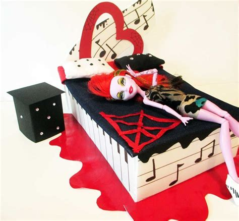 camas de monster high how to make a operetta doll bed tutorial monster high