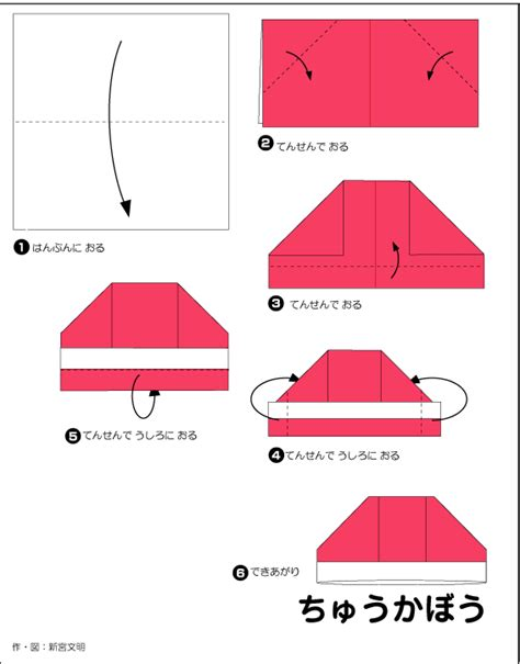 How To Make Paper Hats - hat template images