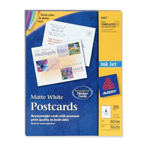 mead perforated 3 x 5 index card template avery perforated inkjet postcards 200 box 5 50 quot x 4