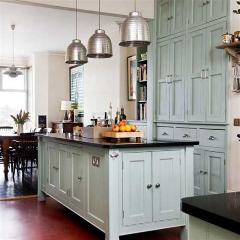 Seafoam Green Kitchen Cabinets Seafoam Kitchen Cabinets House Kitchens Pinterest
