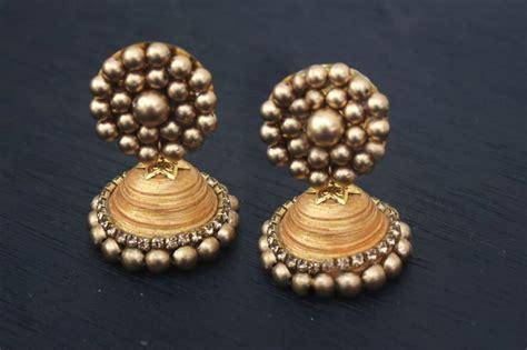 indian jhumka diy earrings allfreejewelrymaking