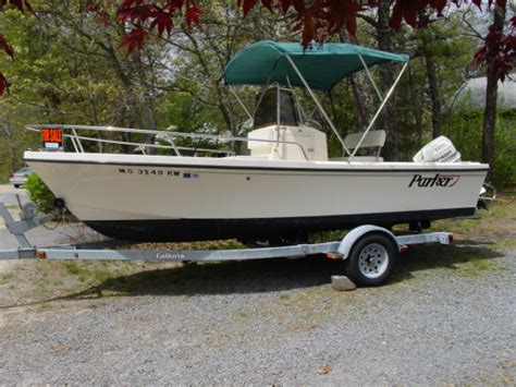 18 foot fishing boat reduced 18 foot parker center console the hull truth