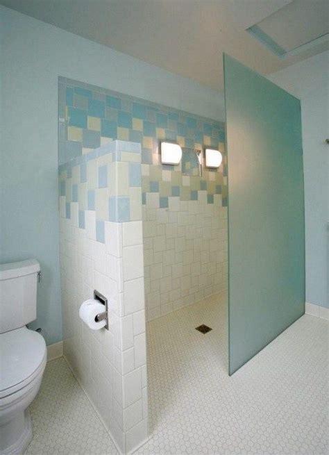 doorless shower ideas walk  tiny house bathroom