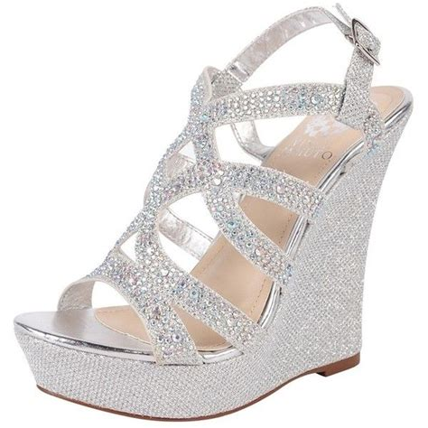 silver wedges shoes silver prom shoes wedges www imgkid the image kid
