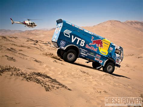 truck rally from russia with kamaz t4 dakar race truck diesel