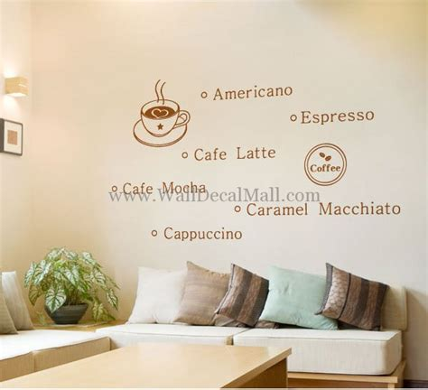 coffee wall stickers coffee time quote wall decals walldecalmall