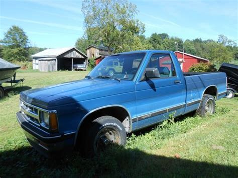 car owners manuals for sale 1993 chevrolet s10 spare parts catalogs purchase used 1993 chevrolet s10 pickup with 5 7 liter v8 engine in burghill ohio united states