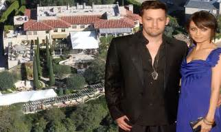 the fairytale setting of nicole richie s wedding to joel the fairytale setting of nicole richie s wedding to joel