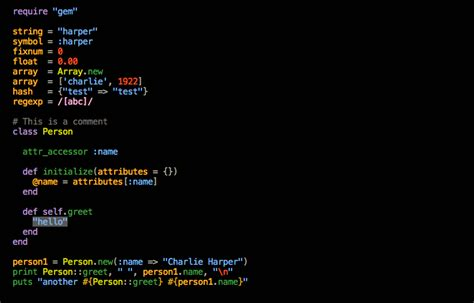 gedit color schemes github idleberg harper gedit a color scheme inspired by
