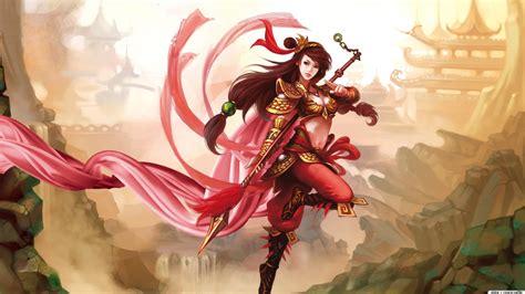 wallpaper anime warrior anime chinese warrior hd 5539 full hd wallpaper desktop