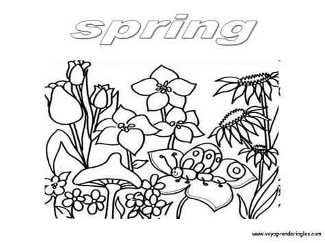 dibujos para colorear primavera letras primavera para colorear www pixshark com images