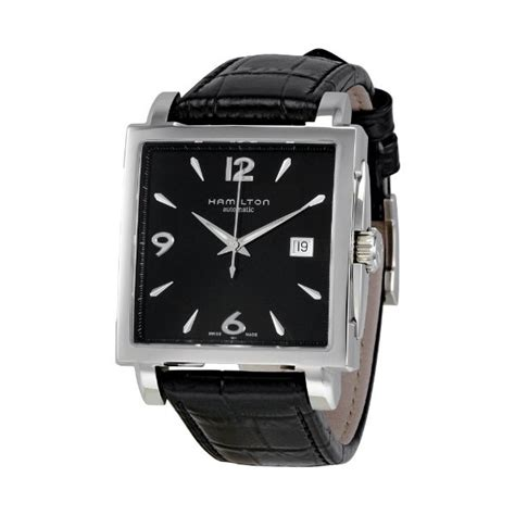 hamilton s watches jazzmaster square automatic