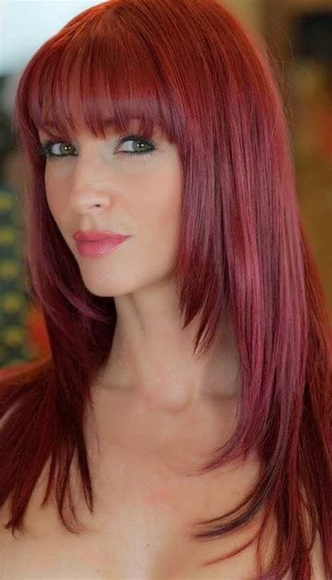 hairstyles for long straight red hair 20 long layered straight hairstyles hairstyles