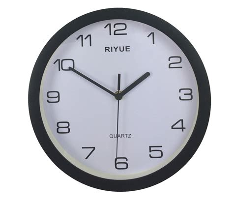cheap wall clocks 10 round abs plastic wall clock cheap and high quality