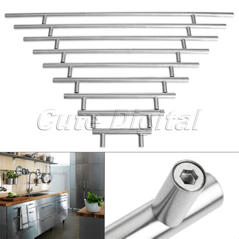 128mm stainless steel t bar handle kitchen cup board stainless steel t bar furniture handles door kitchen