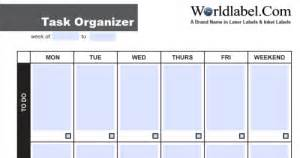 xtrack wedding organizer free office and organizing label templates