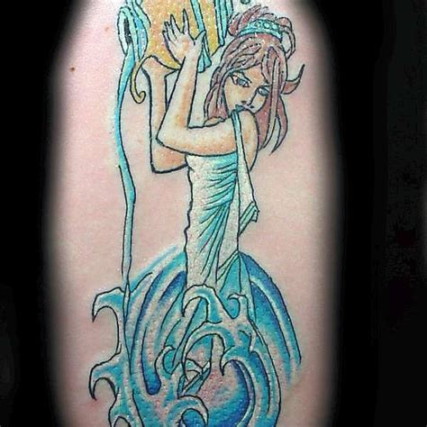 simple aquarius tattoo designs great aquarius aquarius back on