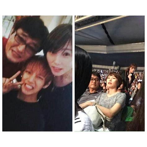 kim namjoon parents his parents are so cute v bts pinterest bts and