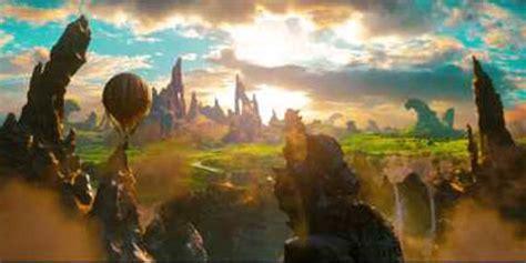 film petualangan fantasi terbaru trailer perdana oz sajikan lanskap negeri fantasi