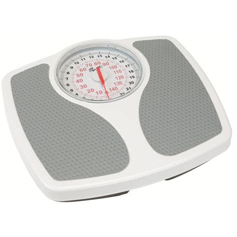 White Bathroom Scales by Propert 150kg White Speedo Mechanical Bathroom Scale