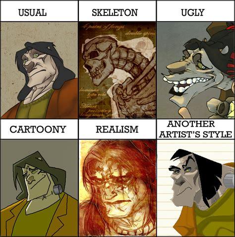 Meme Artist - styles meme art challenge by moony moo on deviantart