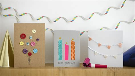 How To Make A Cool Birthday Card Out Of Paper - 8 last minute diy birthday card ideas