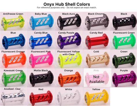 onyx color onyx bmx ultra hg 110 12mm thru bolt rear hub onyx