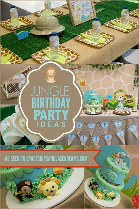 1st birthday jungle theme decorations 1000 images about boy s jungle safari on