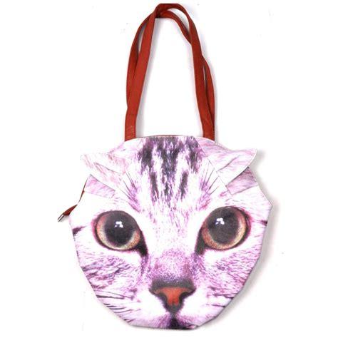 pug faced cat cat pug bag kitsch handbag new bnwt gift kitten ebay