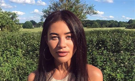 celebrity love island montana love island s montana brown reveals dramatic weight loss