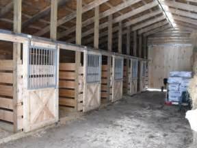 1 stall horse barn