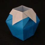 Origami Paper Container - origami boxes great as gift boxes and small containers