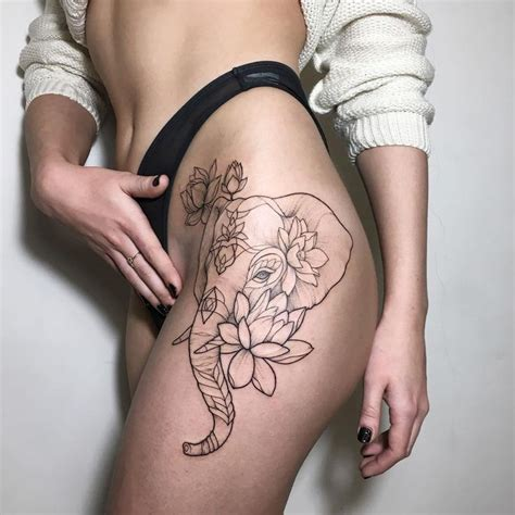 84 elegant and artistic lotus tattoo ideas for women