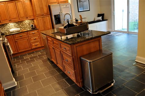 Center Island For Kitchen Marquis Cinnamon Kitchen With Center Island Traditional