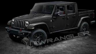 2019 Jeep Wrangler 2019 Jeep Wrangler Predictably Rendered