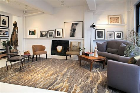 teppiche im wohnzimmer robuste deko ideen mit tufenkian s teppichen