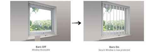 Removable Interior Windows by Removable Window Security Bars Cardea