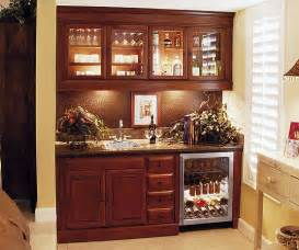 Built In Wet Bar Cabinets With Sink Custom Wet Bar Stone Creek Furniture