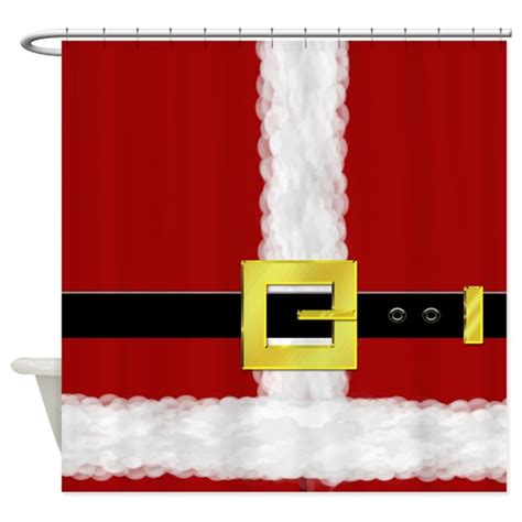 santa suit shower curtain santa suit shower curtain by everythingsxmas