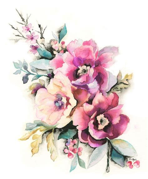 water color flower 25 best ideas about watercolor flower tattoos on