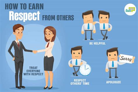 Recpect Fo Others how to earn more respect from others 50 things you should do