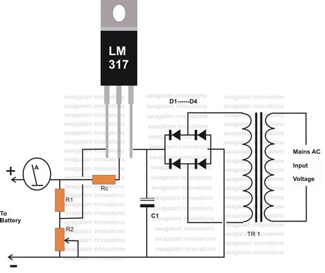 12v battery charger with auto cut circuit diagram 12 volt battery charger diagram electronic