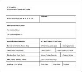 Individual Lesson Plan Template by Lesson Plan Template Best Template Idea