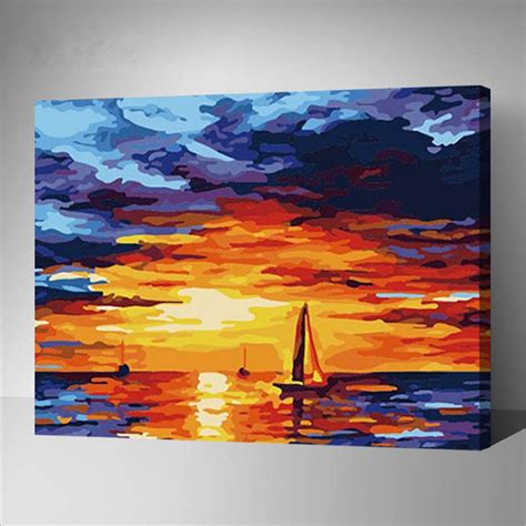 acrylic paint vs paint on canvas aliexpress buy modern painting pictures acrylic