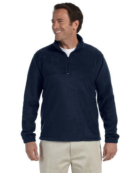design your own embroidered jacket 1 4 zip fleece pullover jacket