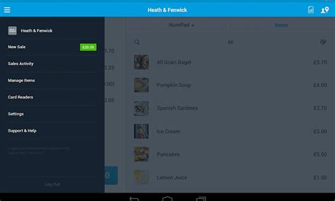apps for android tablet paypal here app is now available for android tablets