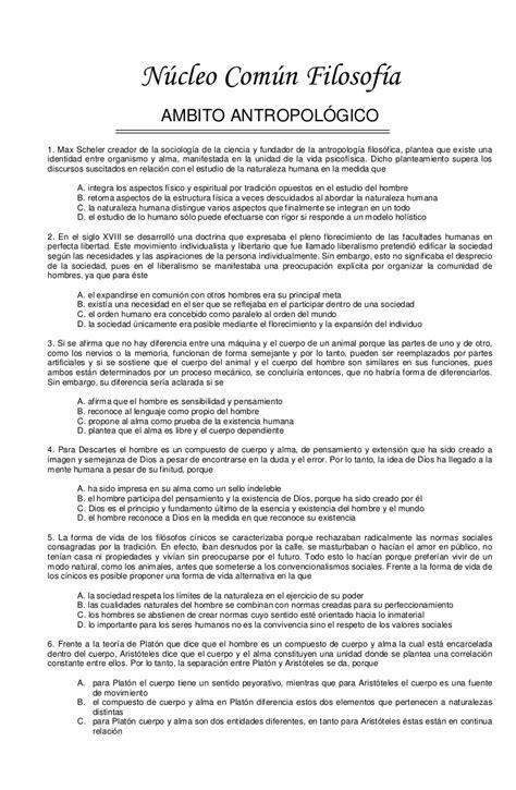 preguntas filosoficas sobre el hombre 2 filosofia banco preguntas examen icfes mejor saber 11 un